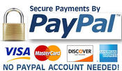Edit Your Webs invites Secure payments by PayPal